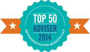 Top 50 Adviser Badge - transparent background